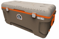 Igloo Super Tough STX Sportsman 150 Quart Cooler - Brown/Tan/Orange