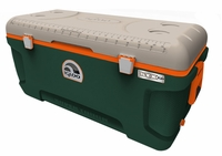 Igloo Super Tough STX Sportsman 150 Quart Cooler - Green/Tan/Orange