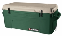 Igloo Yukon Cold Locker 150 Quart Cooler - Huntergreen/Tan
