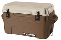 Igloo Yukon Cold Locker 50 Quart Cooler - Dark Tan/Tan