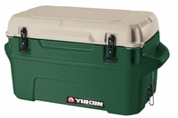 Igloo Yukon Cold Locker 50 Quart Cooler - Huntergreen/Tan