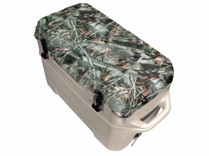Igloo Yukon Cold Locker 50 Quart Cooler - Tan/Camo Reaper Buck
