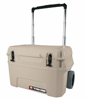 Igloo Yukon Cold Locker 50 Quart Roller Cooler - Tan