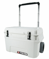 Igloo Yukon Cold Locker 50 Quart Roller Cooler - White