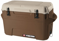 Igloo Yukon Cold Locker 70 Quart Cooler - Dark Tan/Tan