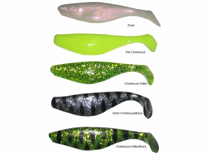 Inshore Custom Tackle S6GB Replacement Shads