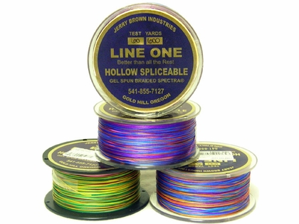 Jerry Brown Decade Line One Hollow Core Spectra 2500yds 100lb