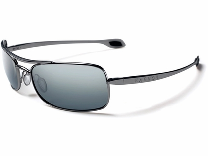 Kaenon Basis Sunglasses 302-03-G12 Black Chrome Frame G12 Lens