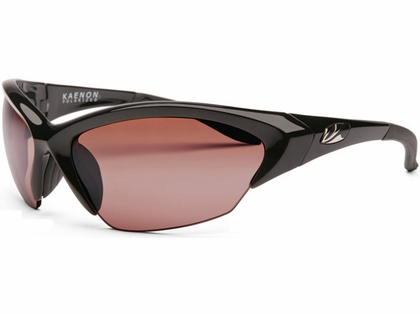 Kaenon Kore Medium Lens Sunglasses 001-01-C12-02 Black Frame C12 Lens