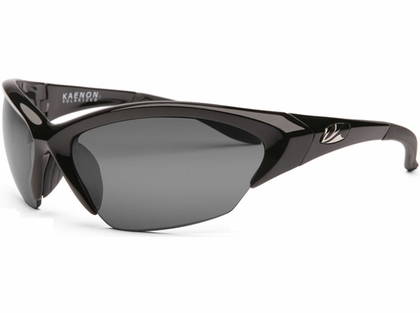 Kaenon Kore Medium Lens Sunglasses 001-01-G12-02 Black Frame G12 Lens