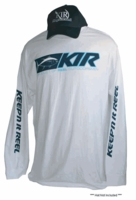 Keepn It Reel LS-119 Capture Tuna T-Shirt - White