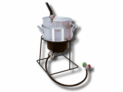 King Kooker Aluminum Fish Fryer 12in