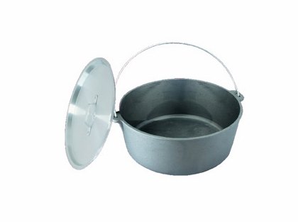 King Kooker Cast Iron Dutch Ovens with Aluminum Lids
