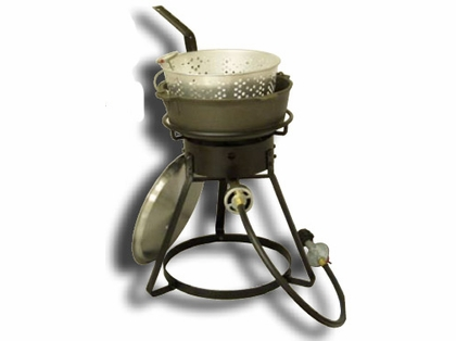 King Kooker Cast Iron Fish Fryer 16in