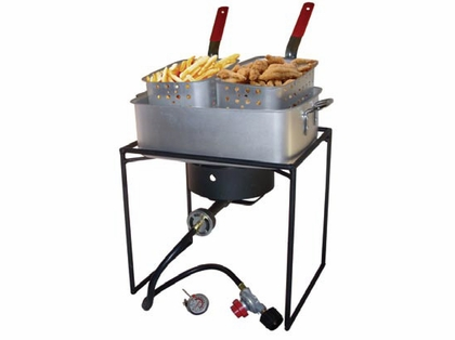 King Kooker Dual Basket Fish Fryer 1618
