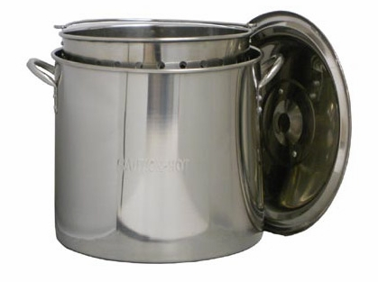 King Kooker Stainless Steel Boiling Pots