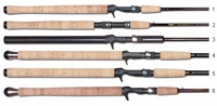 Lamiglas X 96 MC Certified Pro Salmon & Steelhead Casting Rod