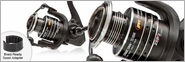Lew's TS400H Tournament High Speed Speed Spin Spinning Reel