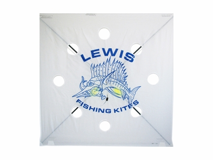 Lewis 100XH Extra Heavy Fishing Kite