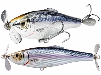 LIVETARGET Lures Blueback Herring Double Prop