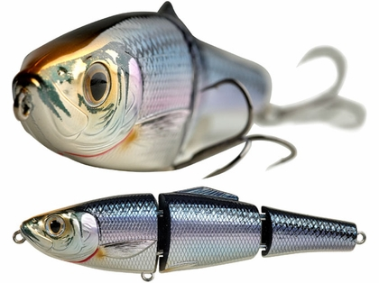 LIVETARGET Lures Blueback Herring Swimbait BBH114SK Slow Sink 4.5in