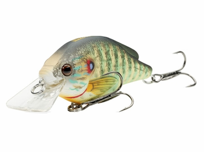 LIVETARGET Lures PSS60S Pumpkinseed Squarebill Shallow Dive 2 3/8""