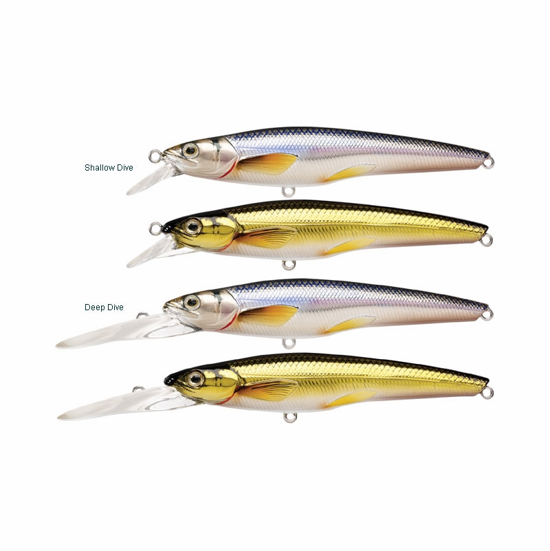 livetarget lures rainbow smelt jerkbait | tackledirect, Hard Baits