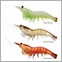 LIVETARGET Lures Shrimp Pre-Rigged Soft Bait