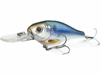 LIVETARGET Lures Threadfin Shad Crankbait S65M Medium Dive 2.5in