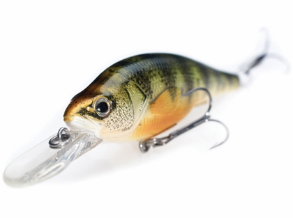 LIVETARGET Lures Yellow Perch Crankbait/Jerkbait YP98D 3-5/8in