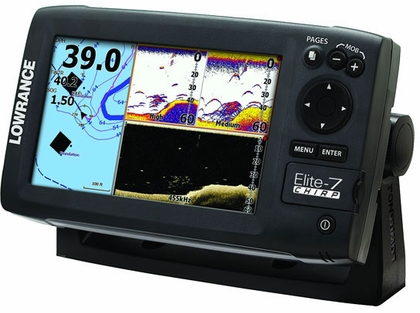 Lowrance Elite-7 CHIRP Base Fishfinder/Chartplotter Combos