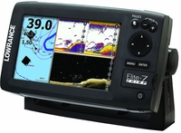 Lowrance Elite-7 CHIRP Gold Fishfinder/Chartplotter Combos