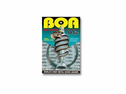 Malin BOA NO-KINK Titanium Shock Leader