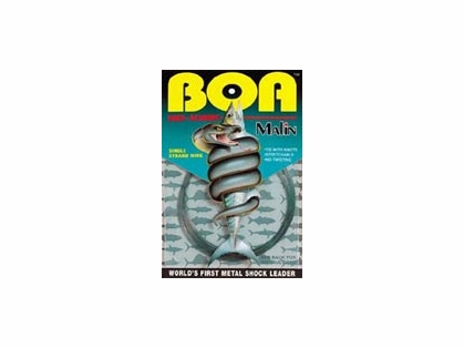Malin NK30-30 BOA NO-KINK Titanium Shock Leader