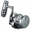 Maxel Ocean Max Single Speed Lever Drag Jigging Reels - Gunsmoke/Silver