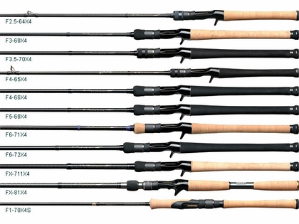 Megabass Destroyer Orochi X4 Bass Casting and Spinning Rods