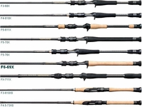 Megabass Destroyer Phase 3 F6-69X Super Destroyer Bass Casting Rod