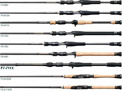 Megabass Destroyer Phase 3 FX-711X Seven Eleven Bass Casting Rod
