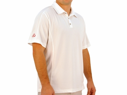 Montauk Polo Performance Shirt White