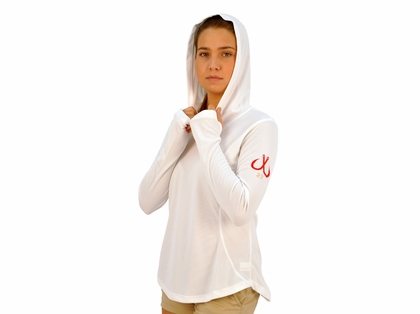 Montauk Tackle Company Womens Performance Hoodie Shirts