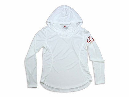 Montauk Women's Performance Hoodie White