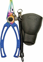 Mustad MT008 7.5'' Stainless Steel Pliers with Rubber Holster