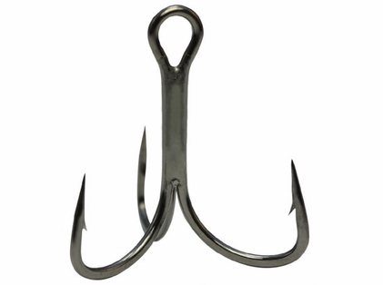 Mustad TG78NP-BN KVD Elite Triple Grip 1X Strong 2 Hook 11pk