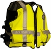 Mustang MV1254 T3 High Visibility Industrial Mesh Flotation Vest