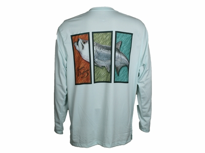 Native Outfitters Z1GRNTAR Z1 Tarpon UV50 Sun Shirt