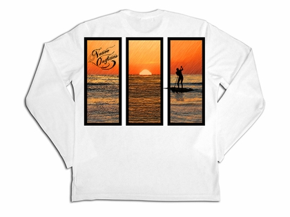 Native Outfitters Z1WHTPAD Z1 Paddleboard UV50 Sun Shirt