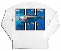 Native Outfitters Z1WHTTUN Z1 Tuna UV50 Sun Shirt