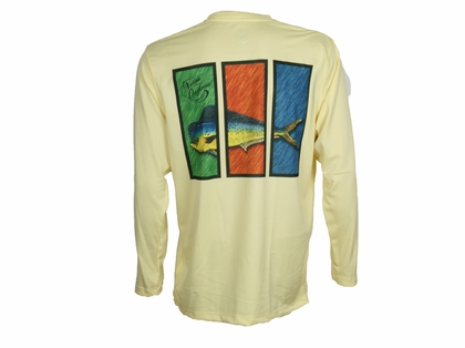Native Outfitters Z1YELMAH Z1 Mahi UV50 Sun Shirt