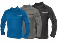 Shimano Navigation Mock Neck LS Tees