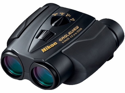 Nikon Eagleview Zoom Binoculars 8-24x25 Black 7496